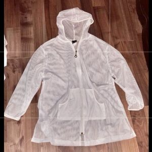 Bathing suit cover up or jacket